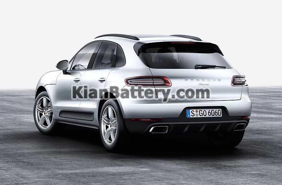 2016 Porsche Macan 4cyl rear باتری پورشه ماکان