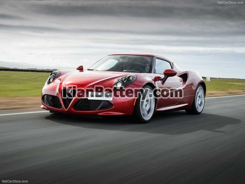 Alfa Romeo 4C باتری آلفارومئو 4C
