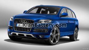 Audi Q7 300x169 باتری مناسب خودروهای آئودی