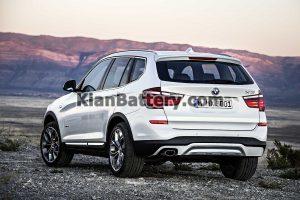 BMW X3 2014 300x200 باتری مناسب خودروهای بی ام و