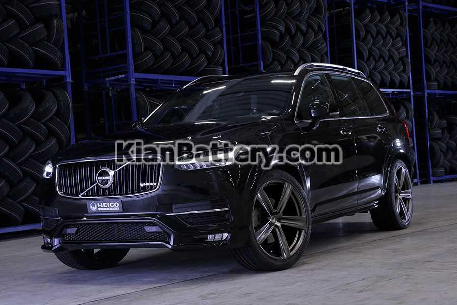 HEICO SPORTIV Volvo XC90 front VOLUTION V22 titanium matt باتری ایکس سی 90