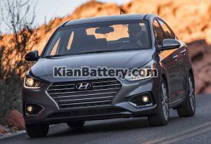 Hyundai Accent 2017 2018 3 300x205 باتری مناسب خودروهای هیوندای