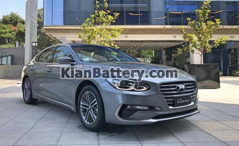 Hyundai Azera 2019 باتری هیوندای آزرا