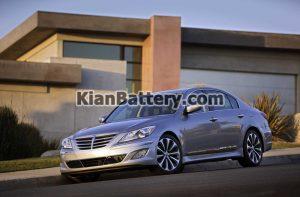 Hyundai Gensis 2011 2013 1 300x197 باتری مناسب خودروهای هیوندای