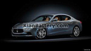 Maserati Ghibli 300x169 باتری مازراتی