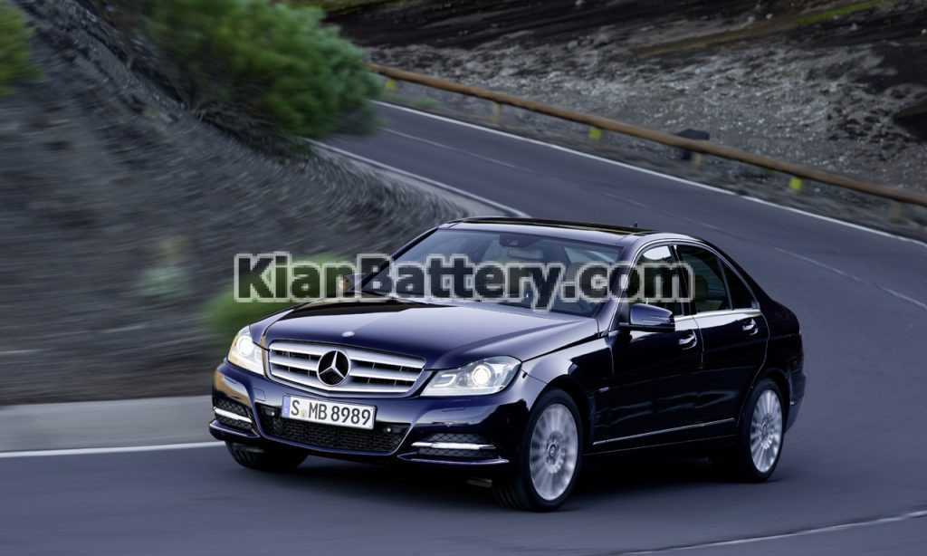 Mercedes Benz C class 2012 1024x614 باتری بنز C350