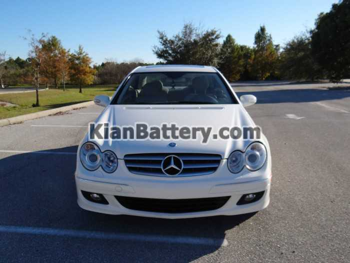 Mercedes Benz CLK 2006 باتری بنز CLK350