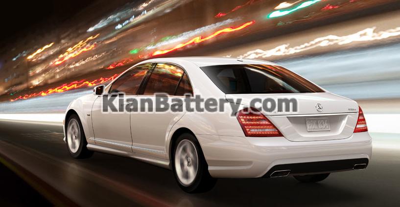 Mercedes Benz S class 2013 باتری بنز اس 350