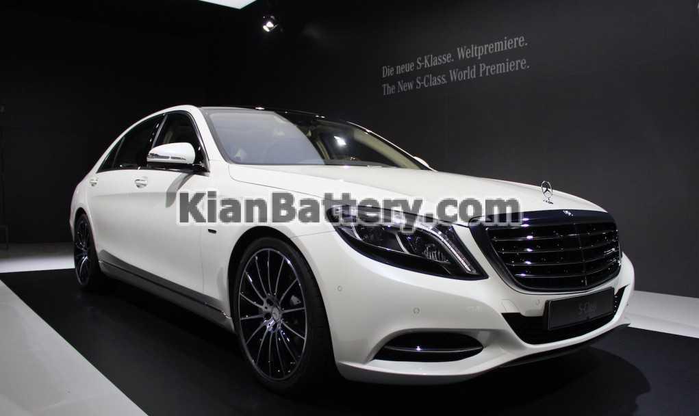 Mercedes Benz S class 2015 باتری بنز اس 500
