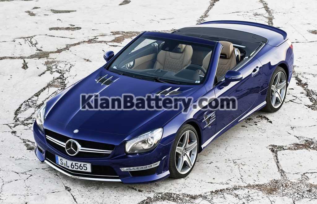 Mercedes Benz SL 2015 1024x660 باتری بنز SL500