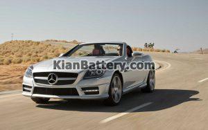 Mercedes Benz SLK 2013 300x188 باتری مناسب خودروهای مرسدس بنز
