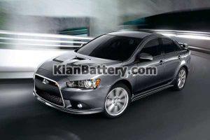 Mitsubishi Lancer 300x200 باتری مناسب خودروهای میتسوبیشی