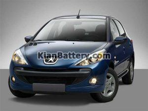 Peugeot 207 300x225 باتری مناسب خودروهای ایرانخودرو