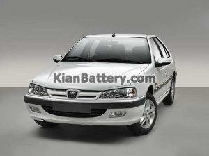 Peugeot Pars 300x225 باتری مناسب خودروهای ایرانخودرو