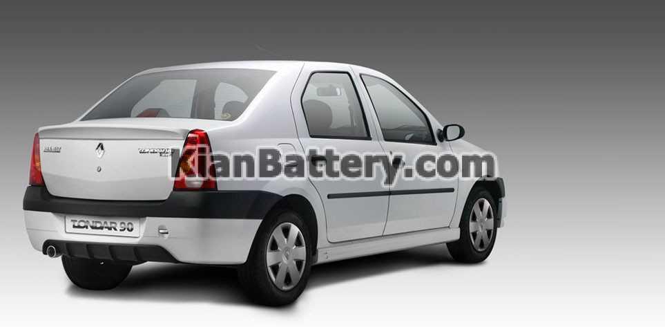 Renault Logan باتری تندر 90