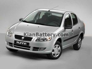 Runa 300x225 باتری مناسب خودروهای ایرانخودرو