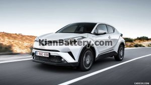 Toyota CHR 2016 2018 1 300x169 باتری مناسب خودروهای تویوتا