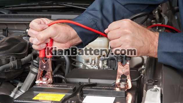 jumper cables charging battery روش اتصال باتری به باتری چگونه است؟