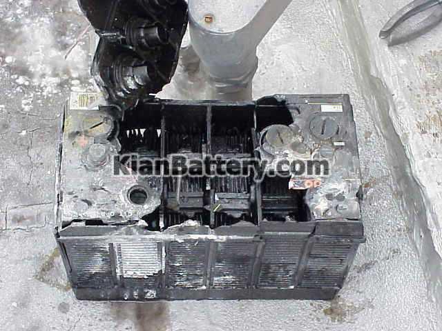 باتری اجزا تشکیل دهنده باتری