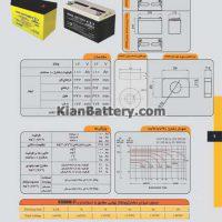 100 ah 200x200 راهنمای انتخاب و خرید بهترین باتری یو پی اس