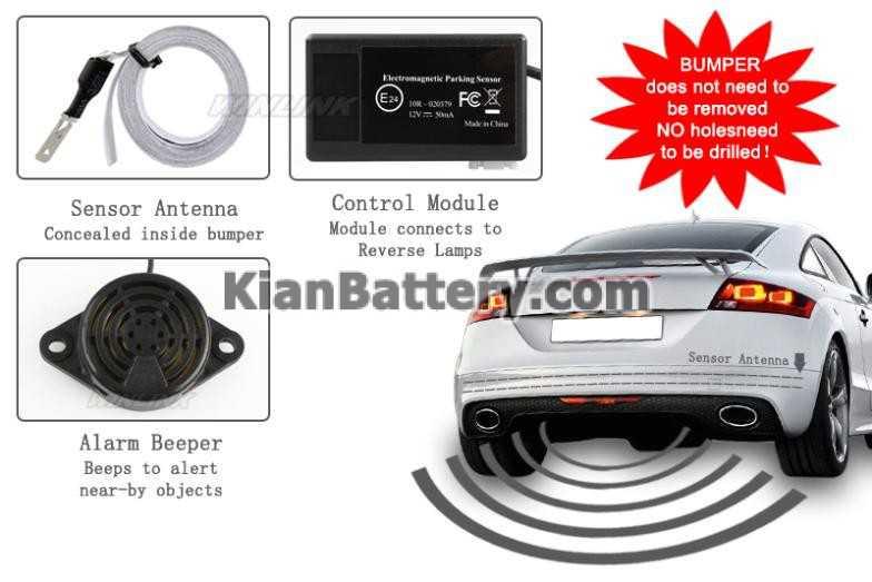 electromagnetic sensor سنسور پارک خودرو + انواع مختلف و مدل های جدید