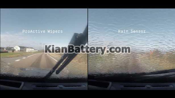 wipers عملکرد سنسور باران در خودرو
