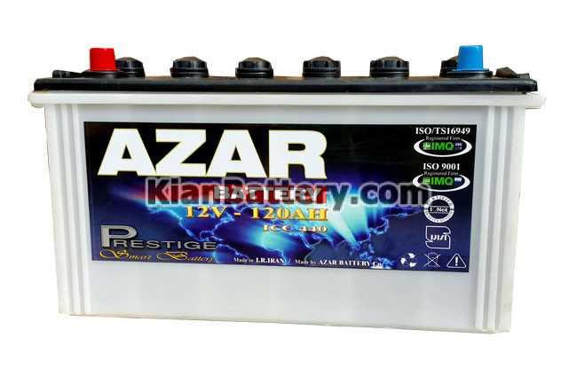 2019 01 19 082628 120Ah باتری آذر محصول شرکت آذر باطری ارومیه