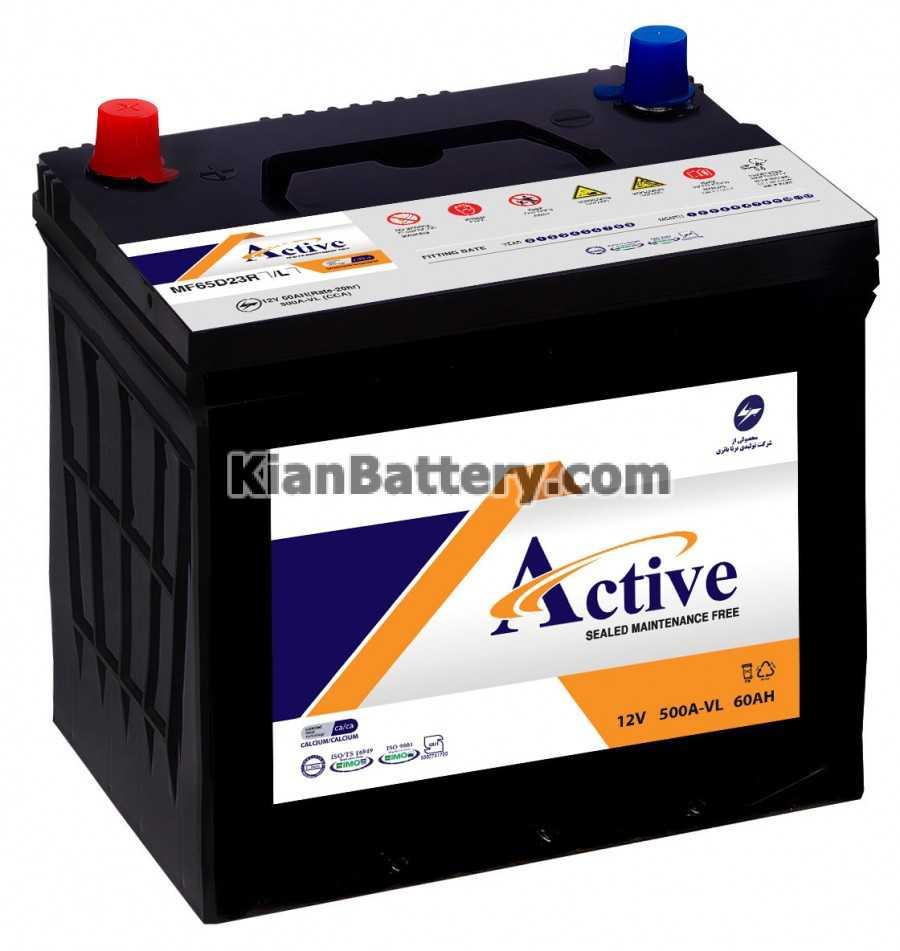 Active battery باتری اکتیو محصول برنا باطری