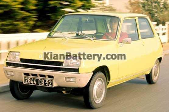 Renault 5 باتری رنو 5