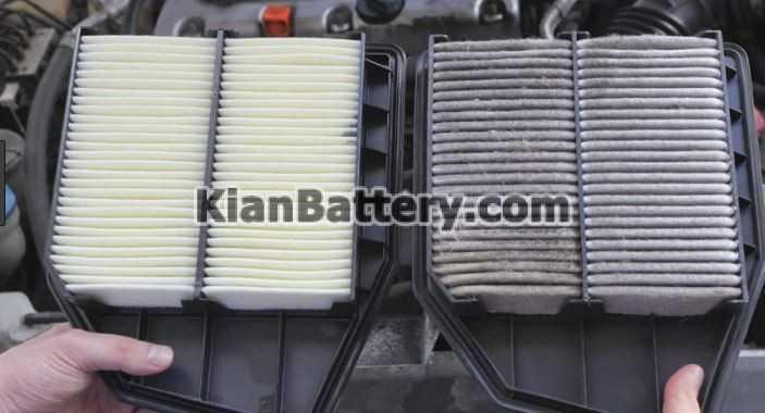 air filter راهکارهای کاهش مصرف سوخت خودرو