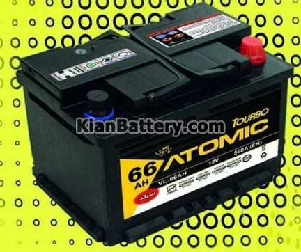 atomic sepahan باتری اتمیک Atomic سپاهان باتری