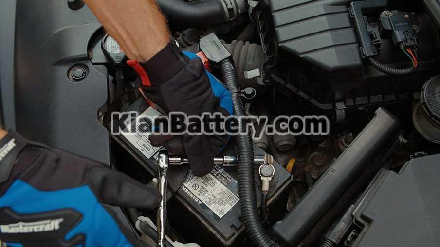 battery install مواردی که می بایستی در هنگام نصب باتری رعایت شود