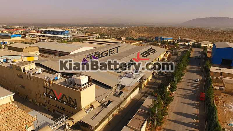 tavan battery شرکت مجتمع سپاهان باتری