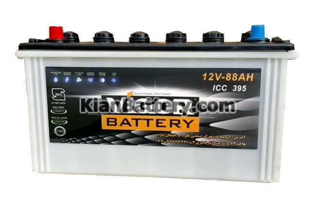 vigor 120Ah باتری ویگور محصول شرکت آذر باتری