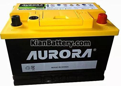 AURORA battery باتری آرورا ساخت کارخانه اطلس بی ایکس