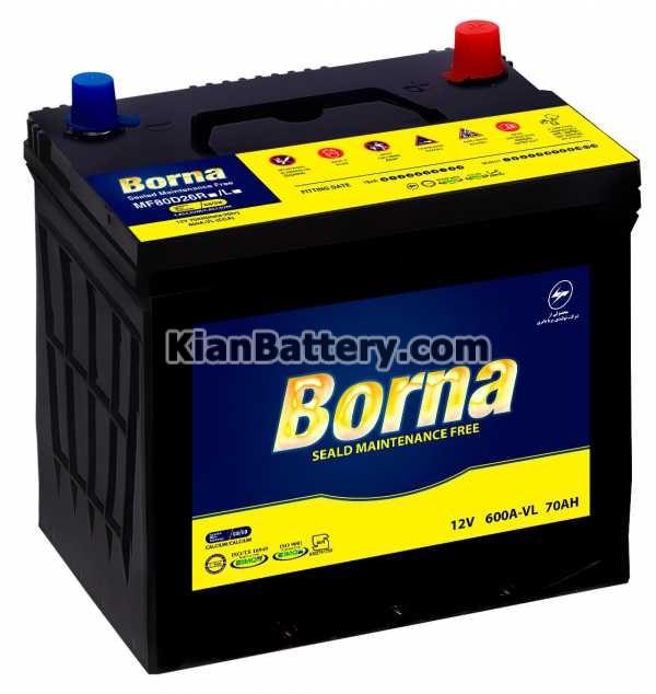 Borna Battery MF باتری مارک Borna محصول برنا باطری