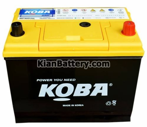 Koba battery 1 باتری کوبا محصول کارخانه اطلس بی ایکس کره
