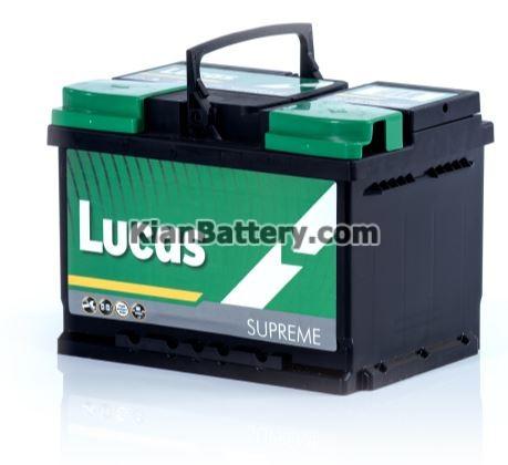 Lucas battery باتری لوکاس