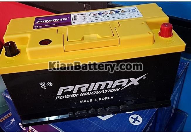 Primax باتری پریمکس محصول کارخانه اطلس بی ایکس کره