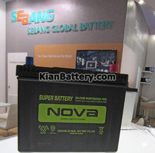 Seabang باتری Nova نوا محصول شرکت گلوبال