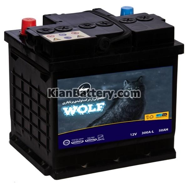 Wolf battery LM باتری ولف محصول برنا باتری