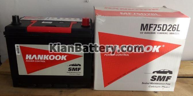 hankook battery باتری هانکوک محصول اطلس بی ایکس کره