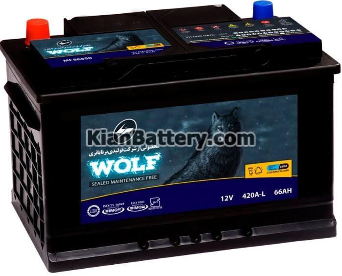wolf battery باتری ولف محصول برنا باتری