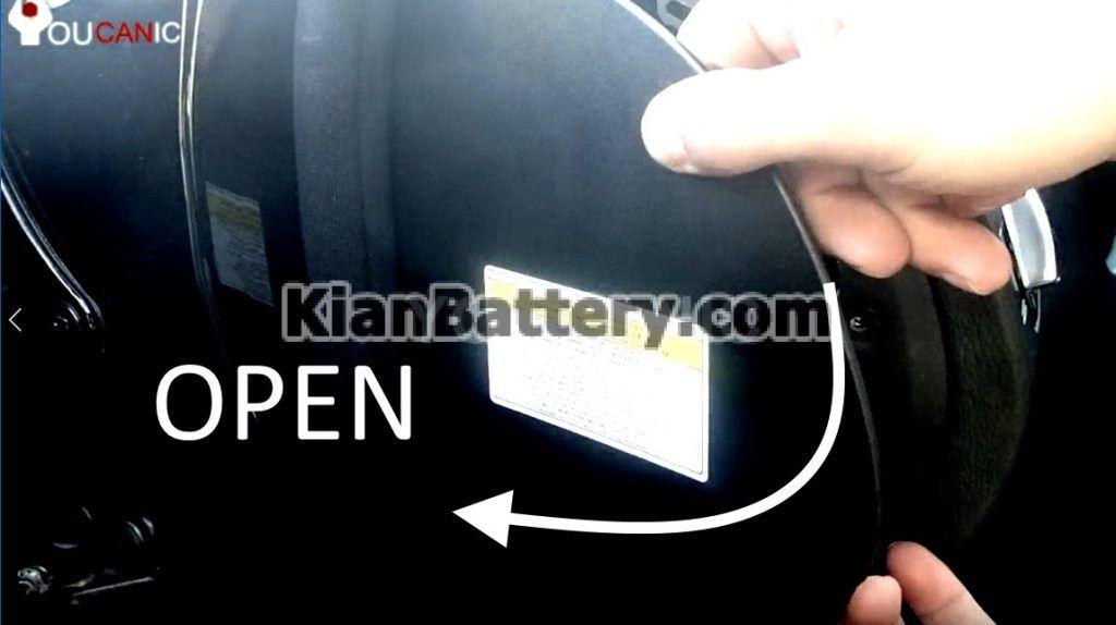 ACCESS AUX BATTERY 1024x574 تعویض باتری کمکی بنز کلاس S و CL مدل 2006 2013