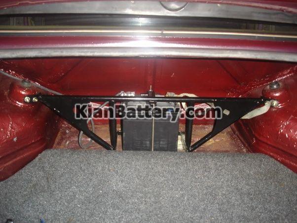 battery trunck تغییر محل نصب باتری در خودرو