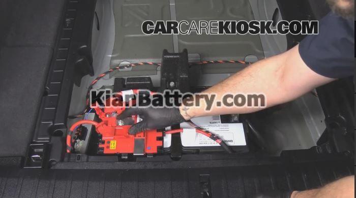 bmw battery replacement 5 آموزش تعویض باتری BMW X3