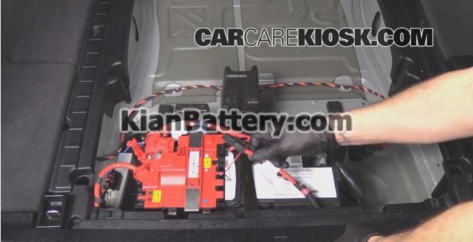 bmw battery replacement 7 آموزش تعویض باتری BMW X3