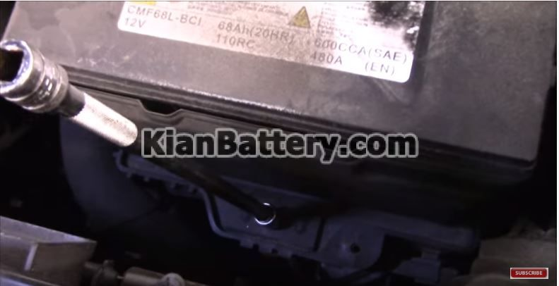 hyundai battery replace 3 راهنمای تعویض باتری هیوندای سانتافه
