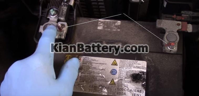 hyundai battery replace 4 راهنمای تعویض باتری هیوندای سانتافه