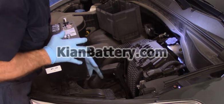 hyundai battery replace 5 راهنمای تعویض باتری هیوندای سانتافه